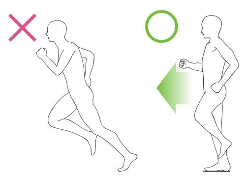 膝の外側が痛くならないランニングフォーム