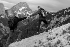 膝のヒアルロン酸注射後すぐには登山しない