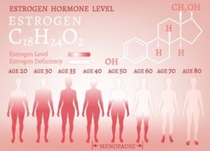 変形性膝関節症とホルモンバランス