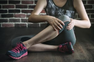 筋肉と膝の痛み