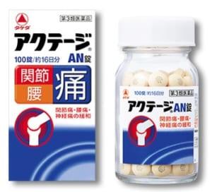 膝痛の薬「アクテージAN錠」