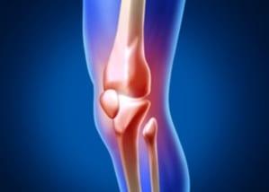 膝上の痛み