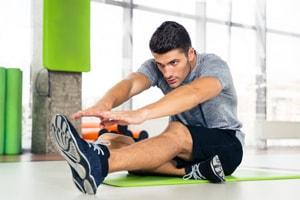 膝の障害に対するストレッチ