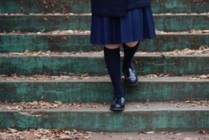 階段を右足から降りる