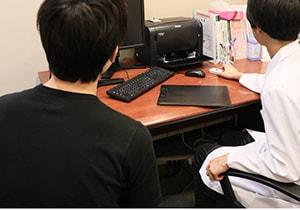 膝のMRI検査⑤ 医師の診察